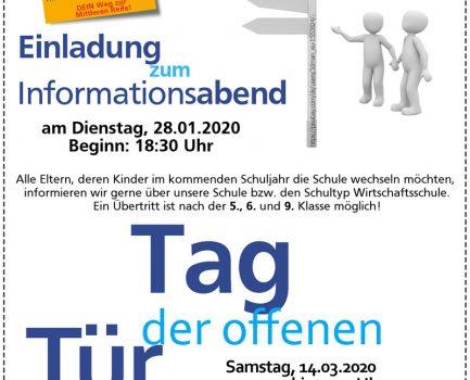 InfoAbend & Tag der offenen Tür