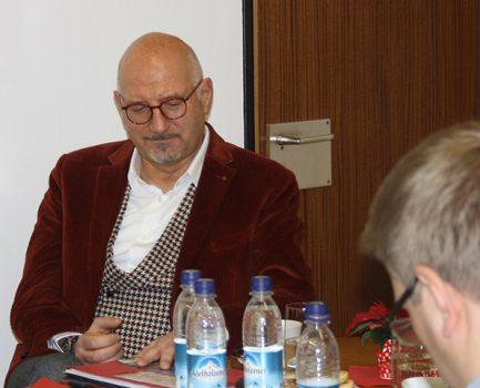 Besuch von Manfred Eibl (Freie Wähler)